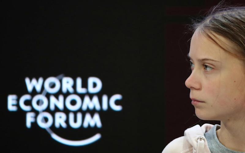 Thunberg tells Davos 'nothing has been done' to fight climate change