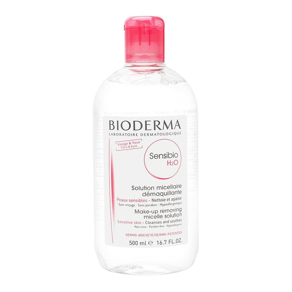 Bioderma Sensibio H2O Soothing Micellar Cleansing Water and Makeup Removing Solution for Sensitive Skin - Face and Eyes