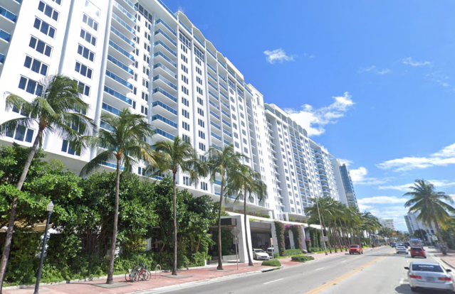 The event took place at 1 Hotel South Beach in Miami. (Google)