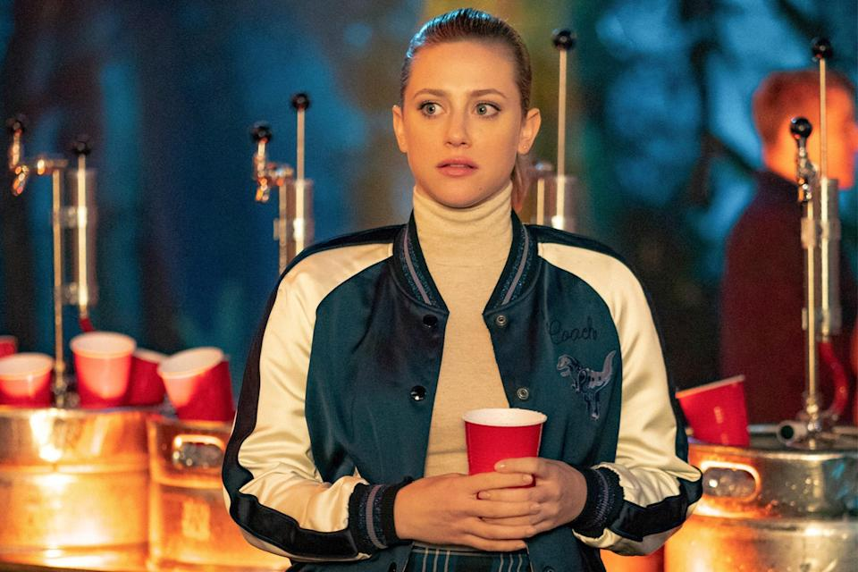 <p><em>Riverdale</em> is back with a new, eerie mystery to solve. Betty, Jughead, and company are on the lookout for those masked monsters who stabbed Mr. Honey to the death. But will they prevail in their search? </p> <p><em>8 p.m. ET on The CW</em></p>