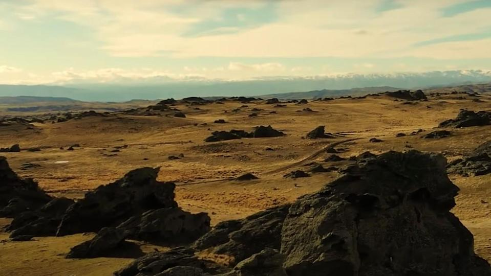 Rohan landscape from Lord of the Rings from Ambient Worlds.
