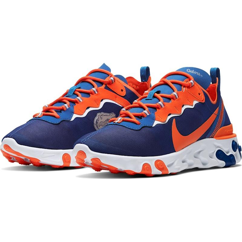 fashion styles quality products buying now NCAA: Shop Nike React Element 55 sneakers
