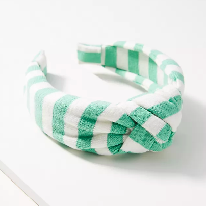 Courtside Knotted Headband. Image via Anthropologie.