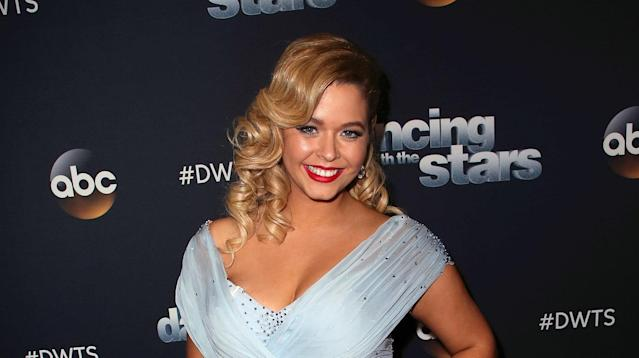 """Pretty Little Liars"" star Sasha Pieterse got candid about her health issues this week, crediting ""Dancing with the Stars"" with helping her feel like herself again."