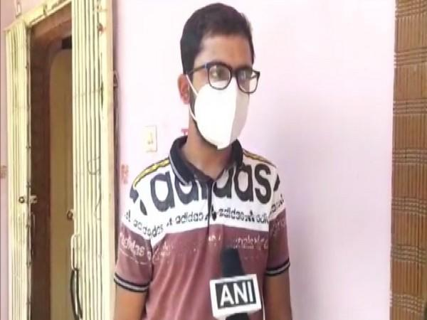 Aman Mittal, the youth who was assaulted by Surajpur district collector