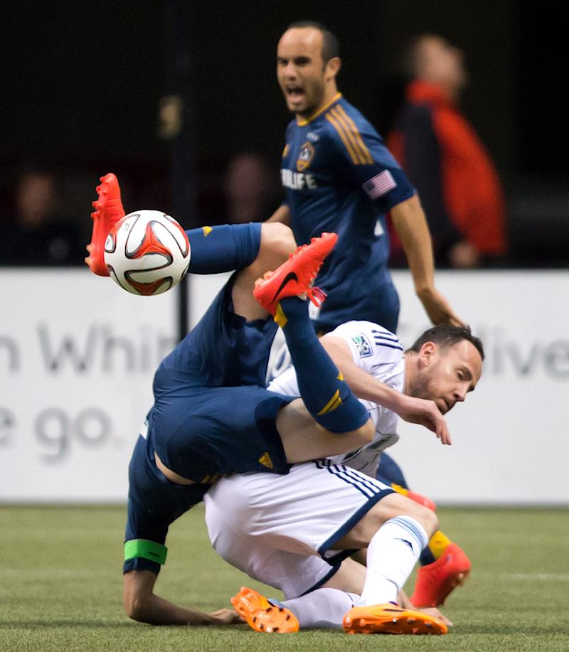 Manneh's goal gives Whitecaps 2-2 draw with Galaxy