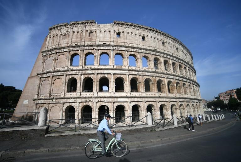 Rome's Colosseum was first completed in 80 AD and last used in 523 AD
