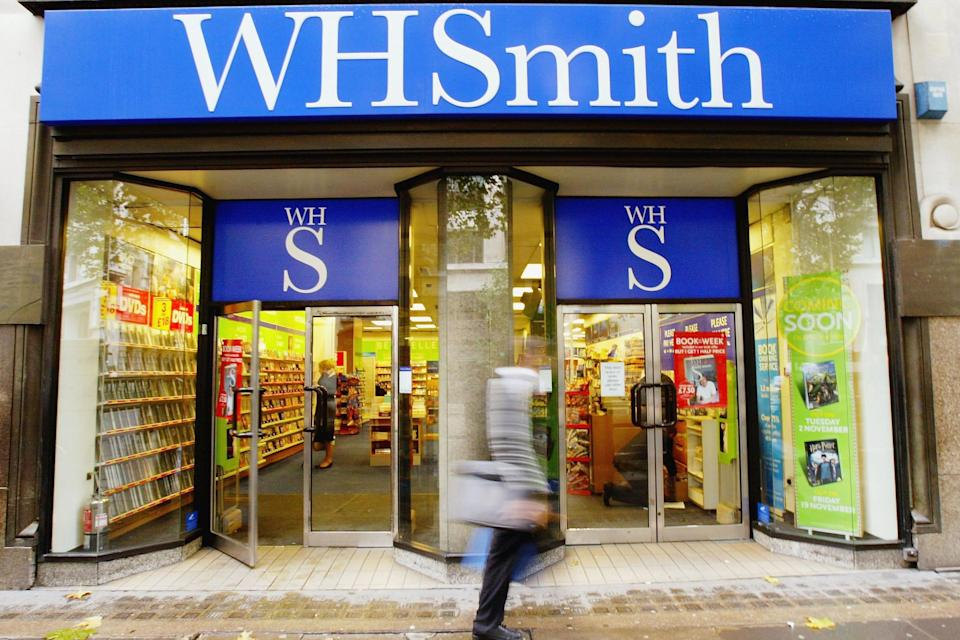 <p>WH Smith released a trading update on Wednesday (Getty)</p> (Getty Images)