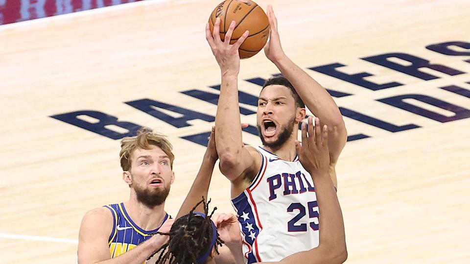 Ben Simmons is reportedly coming around to re-joining the 76ers, but it remains to be seen how tenable the partnership with the team will be in the long-term. (Photo by Andy Lyons/Getty Images)