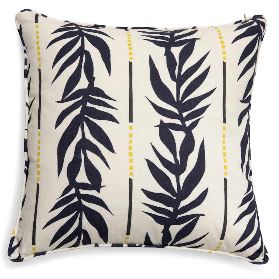 """Drew Barrymore's home goods collection boasts that perfect mix of Old Hollywood romance and bohemian charm.<br><br><strong>Drew Barrymore Flower Home</strong> Vintage Palm Decorative Throw Pillow, $, available at <a href=""""https://go.skimresources.com/?id=30283X879131&url=https%3A%2F%2Fwww.walmart.com%2Fip%2FVintage-Palm-Decorative-Throw-Pillow-20x20-by-Drew-Barrymore-Flower-Home%2F366061811"""" rel=""""nofollow noopener"""" target=""""_blank"""" data-ylk=""""slk:Walmart"""" class=""""link rapid-noclick-resp"""">Walmart</a>"""