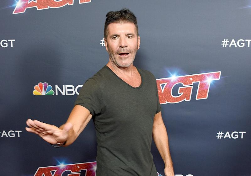 Simon Cowell at 'America's Got Talent' in 2019. (Photo: Gregg DeGuire/Getty Images)