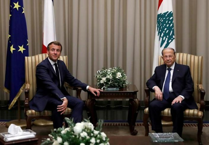 It is Macron's second such visit to hammer home the need for an overhaul of Lebanon's complex sectarian political system