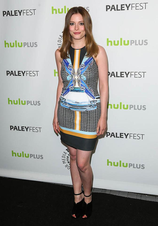 "Gillian Jacobs attends the 30th annual PaleyFest featuring the cast of ""Community"" at the Saban Theatre on March 5, 2013 in Beverly Hills, California."