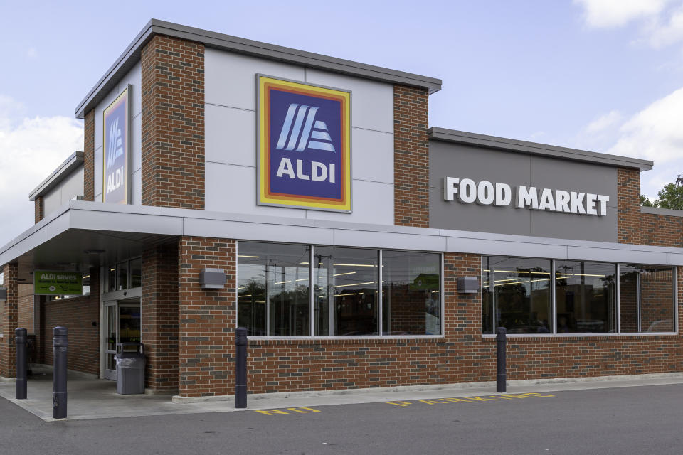 Aldi supermarket store front. Source: Getty Images
