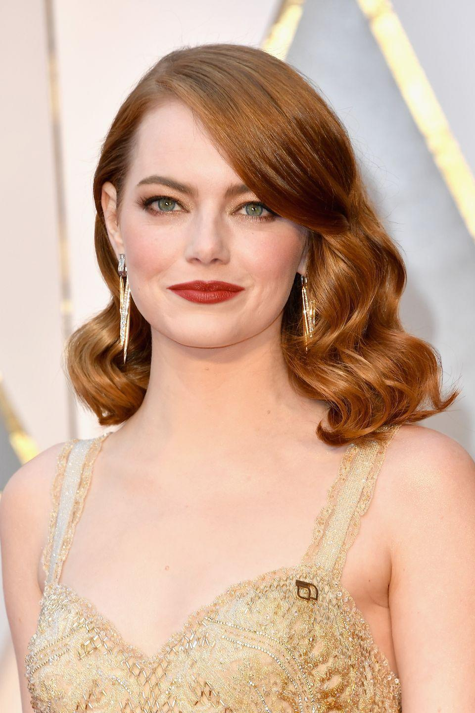 "<p>In an <a href=""https://www.elle.com/culture/a22718593/emma-stone-jennifer-lawrence-turning-30-maniac-family/?source=aw&utm_source=awin&utm_medium=affiliate&utm_campaign=ESI+Media+-+The+Independent"" rel=""nofollow noopener"" target=""_blank"" data-ylk=""slk:interview with Jennifer Lawrence for Elle"" class=""link rapid-noclick-resp"">interview with Jennifer Lawrence for <em>Elle</em></a>, Emma Stone revealed that she started dealing with anxiety at seven years old. ""That's when I started having panic attacks, which I've talked about pretty extensively. I think your wiring is just kind of what you are. My mom always says that I was born with my nerves outside of my body,"" Stone said. While opening about it was scary for her, <a href=""https://www.cnn.com/2018/10/02/entertainment/emma-stone-anxiety/index.html"" rel=""nofollow noopener"" target=""_blank"" data-ylk=""slk:she says it has been ""very healing,"""" class=""link rapid-noclick-resp"">she says it has been ""very healing,""</a> along with therapy and medication. Stone emphasized that her anxiety ""is something that is part of me but it's not who I am.""</p>"