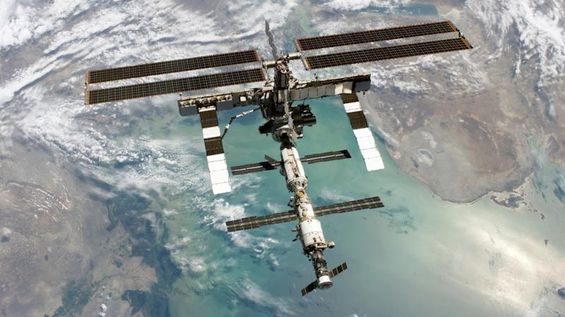 A 3D model of the International Space Station (ISS). Image Courtesy: NASA