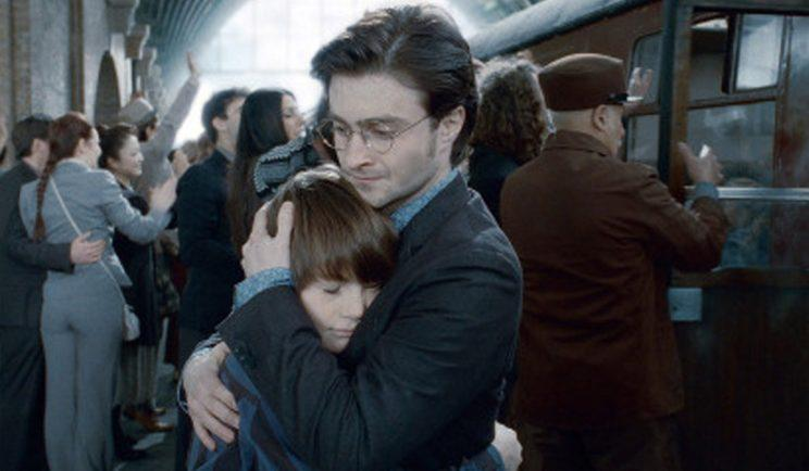 This is the last we'll see of Albus... for now - Credit: Warner Bros.