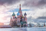 <p>What's a trip to Russia without a visit to St. Basil's Cathedral? The building is one of a kind, and for a morbid reason: it was commissioned by the first Tsar of Russia, Ivan Vasilyevich, who alledgedly blinded the unnamed architect after the cathedral was finished. And while it's easy to appreciate the incredible colours of the domes, it wasn't always this way. St Basil's cathedral was white when it was first built with gold tips. It took more than 200 years for the façade and domes to be painted. <em>[Photo: Getty]</em> </p>