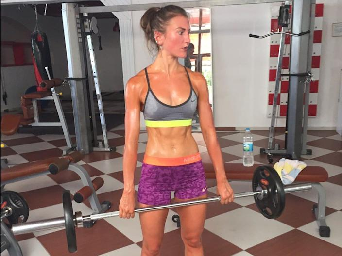 "Hayley Madigan at her leanest. <p class=""copyright"">Hayley Madigan</p>"