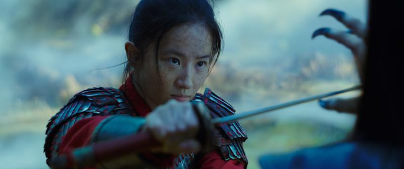 Liu Yifei as Mulan in Disney's live action remake of the 1998 animated hit (Photo: Disney Enterprises Inc.)