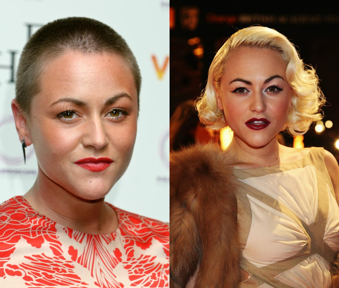 <p>The British actress definitely isn't shy of experimenting with her hair, so it was no surprise when she went for a buzz cut in 2012. <i>[Photo: Getty]</i></p>