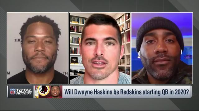 NFL Network's Michael Robinson, David Carr and DeAngelo Hall discuss the possibility of the Washington Redskins taking a quarterback with the No. 2 pick in the 2020 NFL Draft and whether QB Dwayne Haskins will be the team's starter next season.