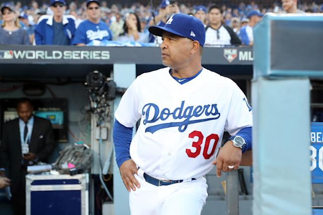 Dodgers fans displeased with a Game 4 collapse laid into manager Dave Roberts before Game 5. (Getty)