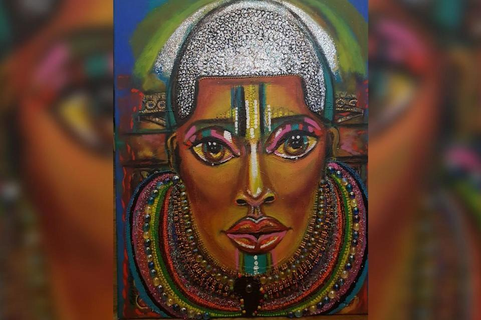Queen Idia: The picture that best represents Audrey (Audrey Williams/Artists Showcase Int)