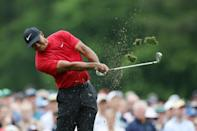 Defending champion Tiger Woods is chasing his sixth Masters title, which would match the all-time record for green jackets held by Jack Nicklaus
