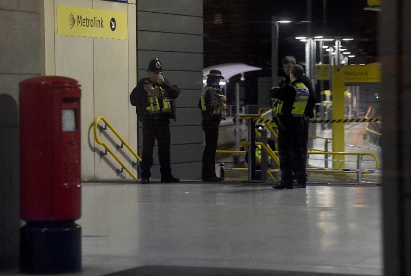 The incident happened close to the Manchester Arena, where a suicide bomber struck in May 2017 (AFP Photo/Paul ELLIS                       )