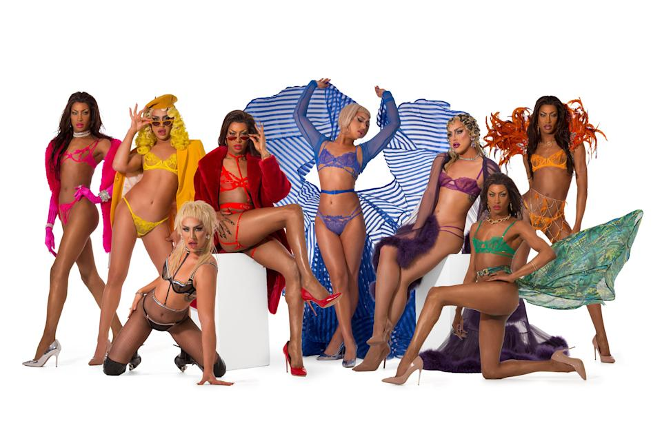 <p>Two stars of Ru Paul's Drag Race UK have spoken out</p> (Bluebella Pride)