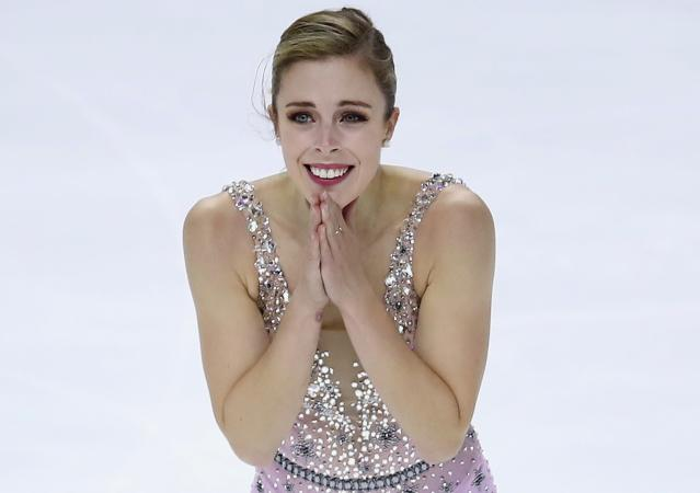 Ashley Wagner crushed the judges after a fourth-place finish on Friday. (AP)