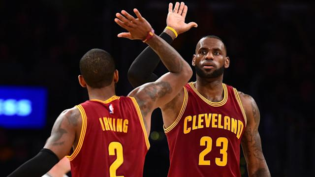 Boston Celtics recruit Kyrie Irving will return to Cleveland on Tuesday and LeBron James is not anticipating any fallout.