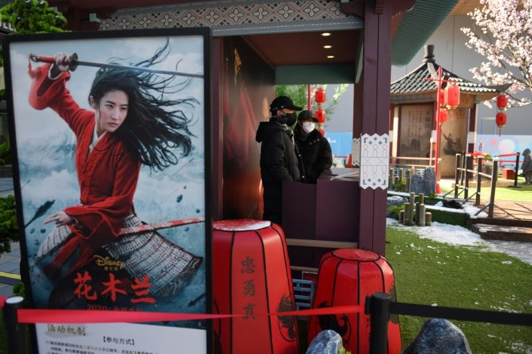 The loss of lucrative Chinese audiences will have a global impact (AFP Photo/GREG BAKER)
