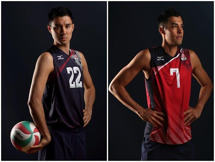 Erik (left) and Kawika Shoji in a side by side image