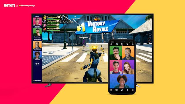 Fortnite Now Offers Houseparty Video Calls On Pc Ps4 And Ps5