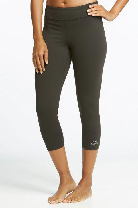 """<p><strong>L.L.Bean </strong></p><p>llbean.com</p><p><strong>$54.95</strong></p><p><a href=""""https://go.redirectingat.com?id=74968X1596630&url=https%3A%2F%2Fwww.llbean.com%2Fllb%2Fshop%2F111686&sref=https%3A%2F%2Fwww.goodhousekeeping.com%2Fhealth-products%2Fg4042%2Fbest-workout-leggings%2F"""" rel=""""nofollow noopener"""" target=""""_blank"""" data-ylk=""""slk:Shop Now"""" class=""""link rapid-noclick-resp"""">Shop Now</a></p><p>For starters, our Lab experts and consumer tester panel all gave this pair <strong>perfect scores for opacity – i.e. these leggings aren't see through, even in deep stretches.</strong> On top of that, these proved to be durable in our Lab's tests: They didn't shrink in the wash and they kept their shape after being stretched out. The thick material was also moisture-wicking in our evaluations. They did pill a bit and a few users wished they had a more compressive fit, so these are best suited for lower-impact activities like walking. Still, testers gave it high scores for fit and comfort, especially liking how soft the fabric felt. And if you're not into high-rise leggings, this one sits low on your waist.</p>"""