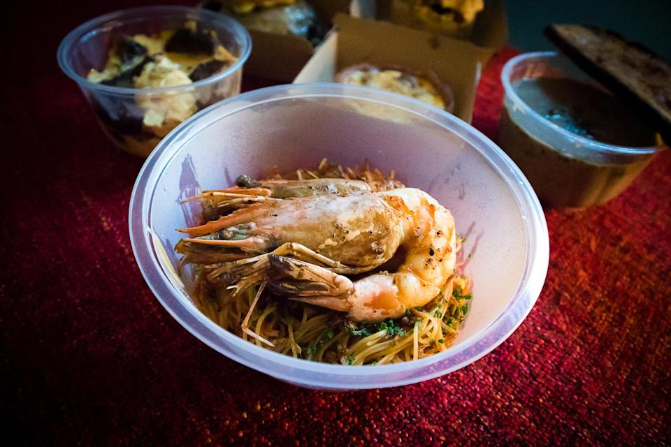 Australian Prawn Capellini. (PHOTO: Zat Astha/Yahoo Lifestyle SEA)