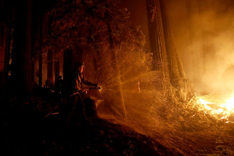 California seeks help as wildfires threaten communities