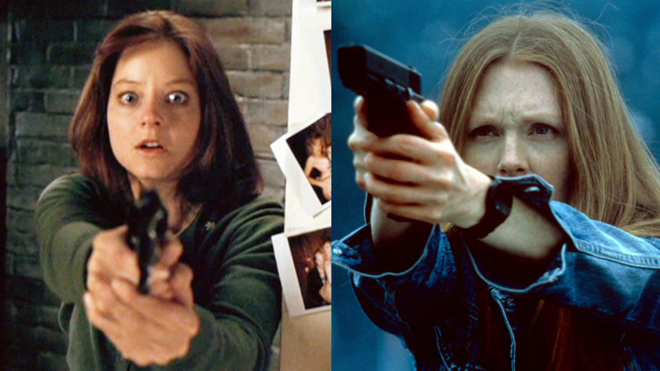 Julianne Moore took over from Jodie Foster as Clarice Starling in 'Hannibal'. (Credit: Orion/MGM/Getty)