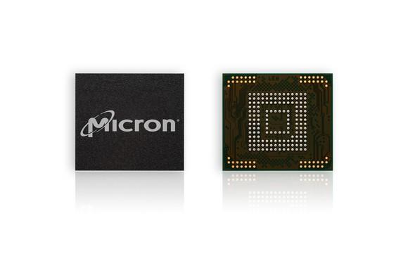 Micron 3D NAND chips.