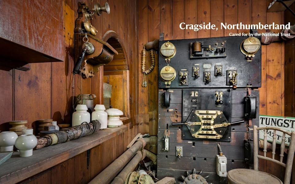 'Office of the Caretaker of the Electric Light' at Cragside in Northumberland - National Trust