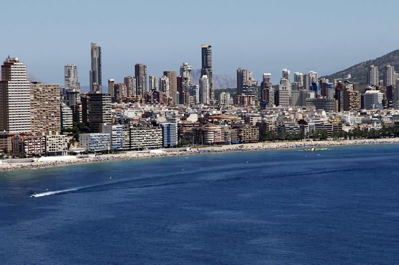 Holiday sport: the resort of Benidorm is popular among British tourists