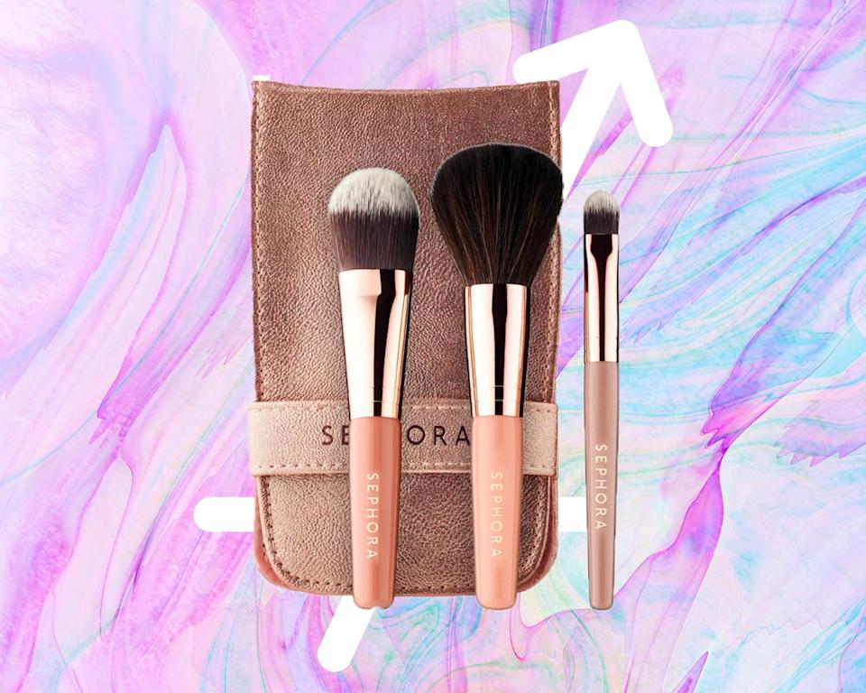 """<h1 class=""""title"""">Sagittarius: Sephora Collection Ready in 5 Face Brush Set</h1><cite class=""""credit"""">Courtesy of brand / Rosemary Donahue</cite>"""