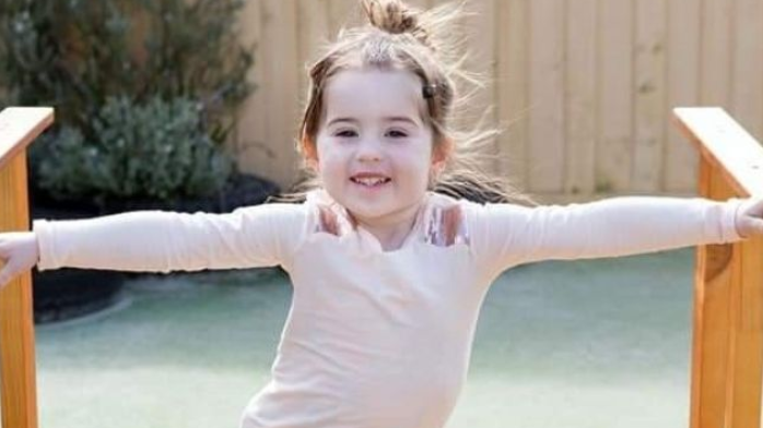 Photo of three-year-old Charlotte Smithers who was accidentally killed by her mum's car.