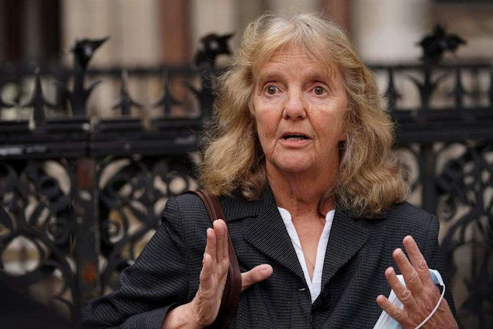 """Ms Dove has said she is """"bitterly disappointed"""" by the High Court's ruling on Friday (Victoria Jones/PA) (PA Wire)"""