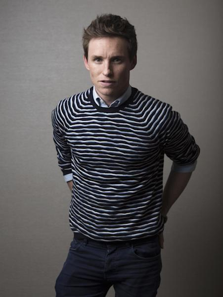 """In this Nov. 7, 2016 photo, actor Eddie Redmayne poses for a portrait in New York to promote his film, """"Fantastic Beasts,"""" the first of a planned five prequels to the """"Harry Potter"""" series by J.K. Rowling. (Photo by Taylor Jewell/Invision/AP)"""