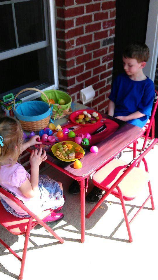 """<p>Turn lunch into an adventure by hiding snacks inside eggs and having kids hunt for them. </p><p><strong>Get the tutorial at <a href=""""https://gluesticksblog.com/easter-egg-lunch-hunt/"""" rel=""""nofollow noopener"""" target=""""_blank"""" data-ylk=""""slk:Gluesticks"""" class=""""link rapid-noclick-resp"""">Gluesticks</a>. </strong></p><p><strong><a class=""""link rapid-noclick-resp"""" href=""""https://www.amazon.com/Include-Specific-Stuffers-Classroom-Supplies/dp/B086BP7D1F/ref=sr_1_3?dchild=1&keywords=easter+eggs&qid=1614114000&sr=8-3&tag=syn-yahoo-20&ascsubtag=%5Bartid%7C10050.g.4083%5Bsrc%7Cyahoo-us"""" rel=""""nofollow noopener"""" target=""""_blank"""" data-ylk=""""slk:SHOP EASTER EGGS"""">SHOP EASTER EGGS</a></strong></p>"""