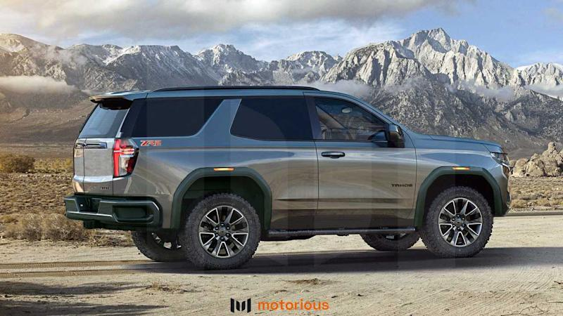 2021 Chevrolet Tahoe Reimagined With Two-Door ZR2, SS Renderings