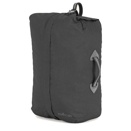 """<p><a class=""""link rapid-noclick-resp"""" href=""""https://www.homeofmillican.com/collections/overnight-bags/products/the-mavericks-miles-the-duffle-bag-40l-graphite"""" rel=""""nofollow noopener"""" target=""""_blank"""" data-ylk=""""slk:SHOP"""">SHOP</a></p><p>""""Yes, the UK is slowly reopening, I hope you have your trips booked? For a quick getaway, chuck all your clothes in this overnight bag by Millican, crafted from recycled polyester with a neat hidden laptop holder for any last minute work emails on the train.""""</p><p><strong>Dan Choppen, Fashion Assistant</strong></p><p>£155, <a href=""""https://www.homeofmillican.com/collections/overnight-bags/products/the-mavericks-miles-the-duffle-bag-40l-graphite"""" rel=""""nofollow noopener"""" target=""""_blank"""" data-ylk=""""slk:homeofmillican.com"""" class=""""link rapid-noclick-resp"""">homeofmillican.com</a></p>"""